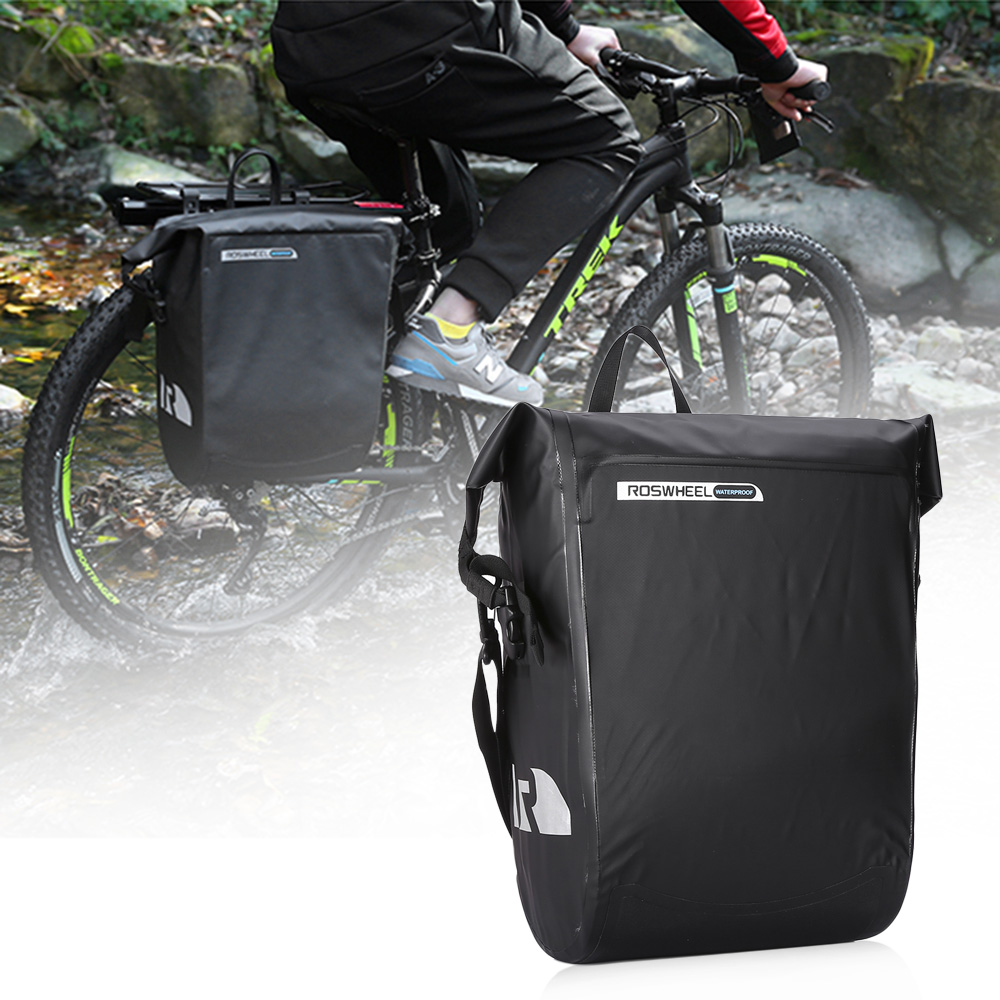 Roswheel Waterproof Bike Phone Frame Tail Bag Bicycle Rear Pack Seat Rockbros A 008 Handlebar Front Pannier 3 4l Delivery