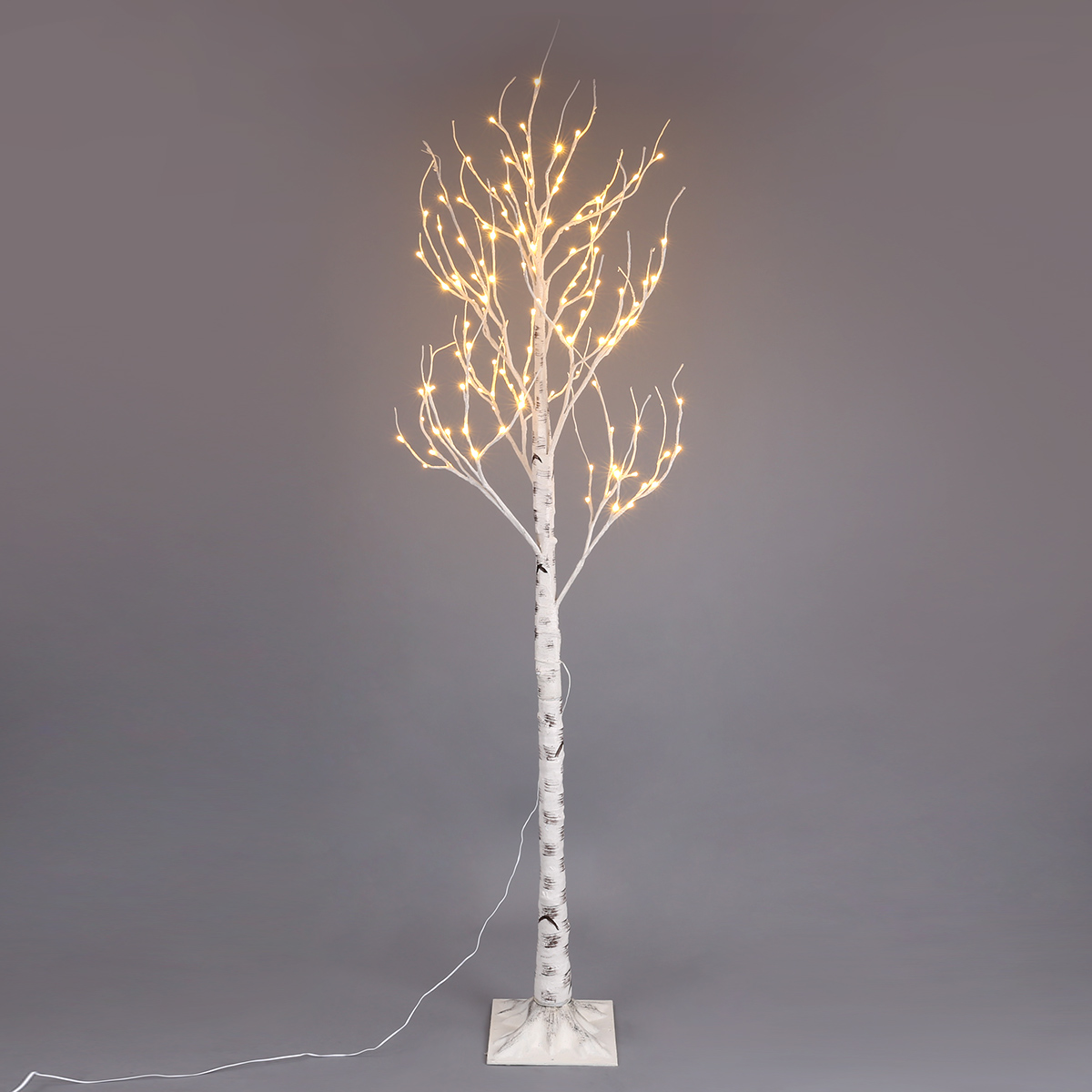 7ft 5ft 4ft 120 72 48led Birch Twig Tree Warm White Xmas Party Lights Home Decor
