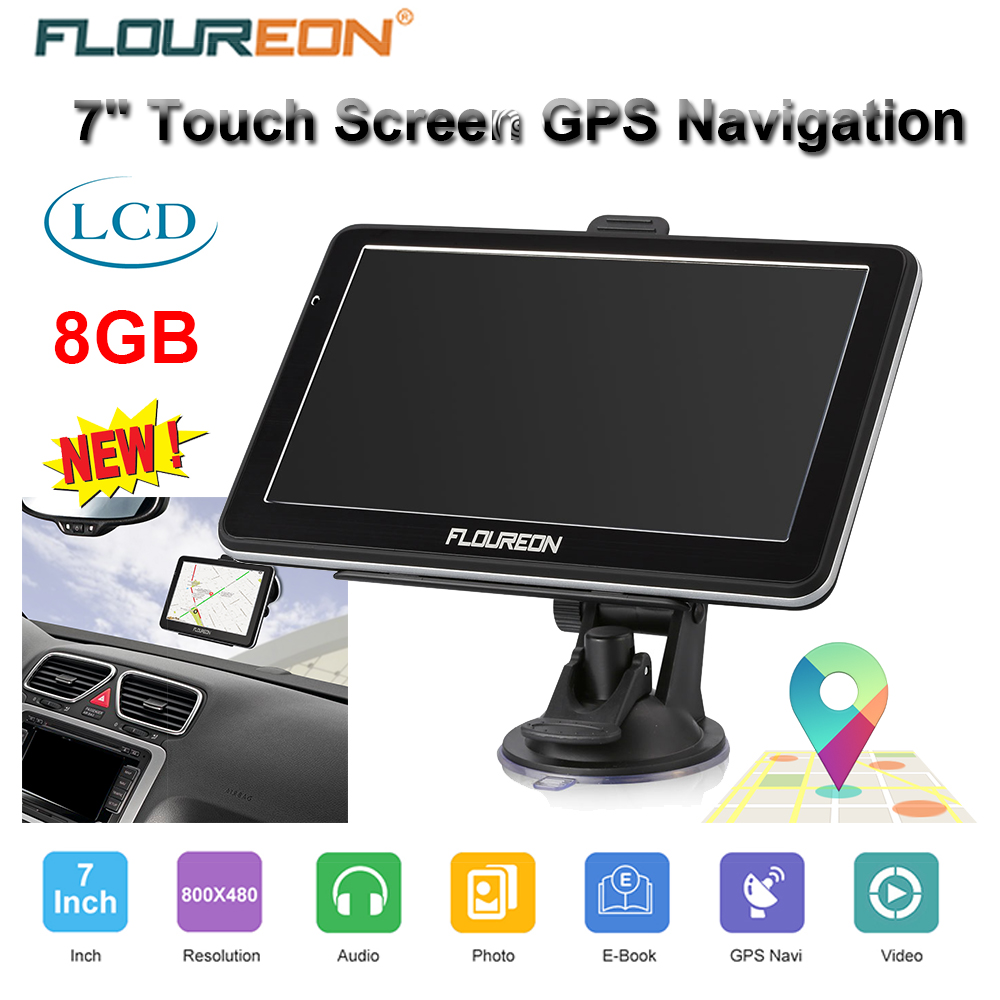 7 39 39 zoll car touch screen lkw gps navi navigation. Black Bedroom Furniture Sets. Home Design Ideas