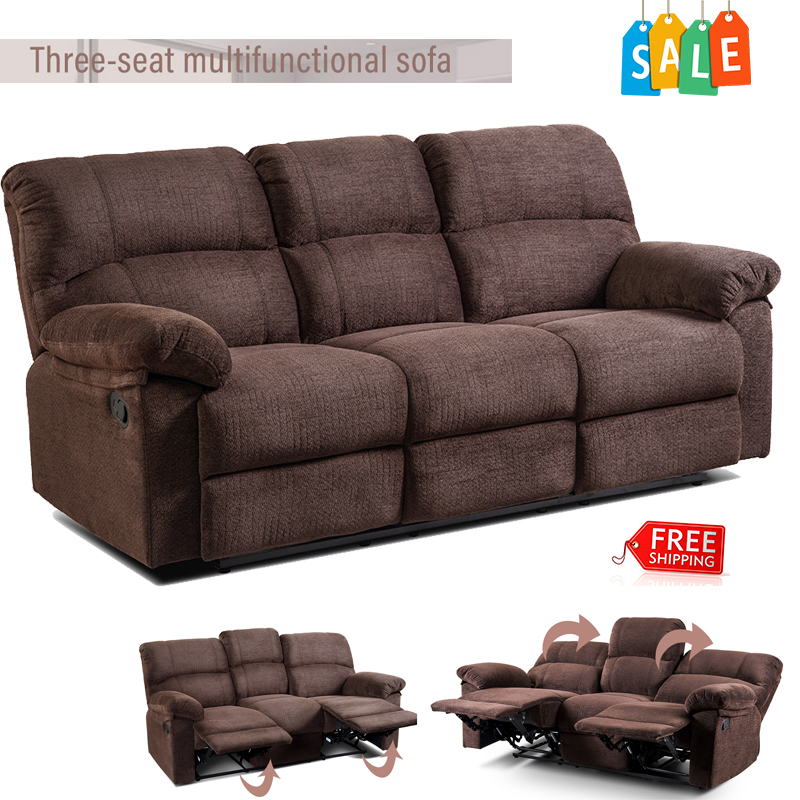 Outstanding Details About Recliner Sofa Armrest Chair Lazy Living Room Reclining Furniture Three Seat New Bralicious Painted Fabric Chair Ideas Braliciousco